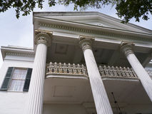 Beautiful Antebellum House in Natchez Mississippi in the USA Stock Photos