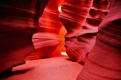 Beautiful Antelope Canyon Royalty Free Stock Photos