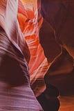 Beautiful Antelope Canyon, Near Page, Arizona Stock Image