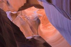 Beautiful Antelope Canyon, by Page, Arizona Stock Image