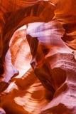 Beautiful Antelope Slot Canyon Stock Photo