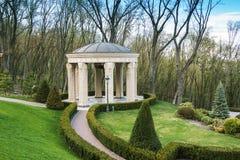 Beautiful antic arbor in garden Royalty Free Stock Photo