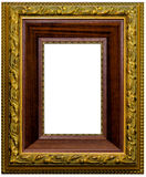 Beautiful antique carved frame Royalty Free Stock Images
