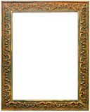 Beautiful antique carved frame Stock Images