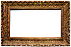 Beautiful antique carved frame Royalty Free Stock Photo