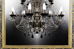 Beautiful antique chandelier Royalty Free Stock Photography