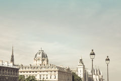 Beautiful antique city building Stock Photography