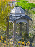 Beautiful antique gazebo in the park Royalty Free Stock Photos