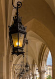 Beautiful antique lantern- Cracow(Krakow)- Poland Royalty Free Stock Photo