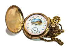 Beautiful Antique Pocket Watch Stock Images