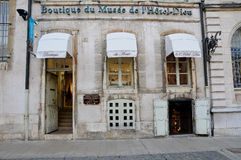 Beautiful and antique shops in beaune burgundy france Royalty Free Stock Images