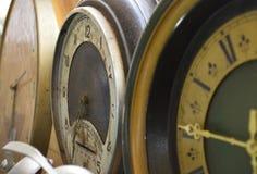 Beautiful vintage old wall clock royalty free stock photos
