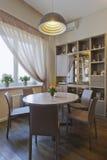 Beautiful apartment, interior, kitchen Stock Image