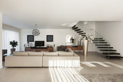 Beautiful apartment, interior Stock Photo