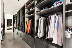 beautiful apartment, interior, wardrobe Royalty Free Stock Photography
