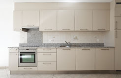 Beautiful apartment refitted Stock Photo