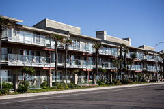 Beautiful Apartments on the Coast - Close Up Royalty Free Stock Photography