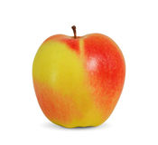 Beautiful apple. On white background Stock Photos