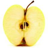 Beautiful apple con white background. Beautiful apple closeup on white background Stock Images