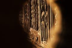 Beautiful Apsara carving Stock Photography