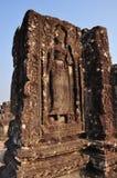 Beautiful apsara of Phnom Bakheng. In  Angkor in Cambodia Royalty Free Stock Photo