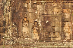 Beautiful Apsaras At Banteay Kdei Temple In Cambodia Royalty Free Stock Photos
