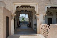 Beautiful arabian designed balcony Royalty Free Stock Image