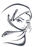 Beautiful arabian girl Royalty Free Stock Images