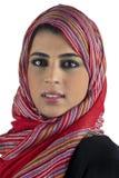 Beautiful arabian lady wearing traditional islamic Royalty Free Stock Photo