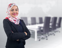 Free Beautiful Arabian Model In Hijab Posing Royalty Free Stock Photography - 36747507