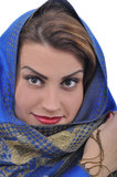Beautiful Arabian woman Stock Photography