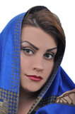 Beautiful Arabian woman Royalty Free Stock Photos