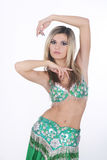 Beautiful Arabic Belly Dancer Royalty Free Stock Image