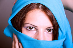 Beautiful Arabic woman Royalty Free Stock Photos