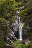 The beautiful Arado Waterfall Cascata do Arado at the Peneda Geres National Park in northern Portuga. L, Europe royalty free stock photo