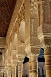 Alhambra Palace in Granada. Beautiful Arc at the Alhambra palace in Granada, Spain Stock Photography