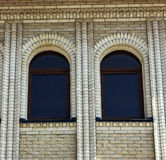 Beautiful  arch windows Royalty Free Stock Images