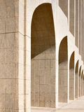 Beautiful arches are a frequent reminder of Arabia Stock Photography