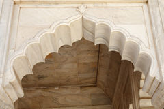 Beautiful architectural display at Diwan-i-Khas of Agra Fort Stock Images