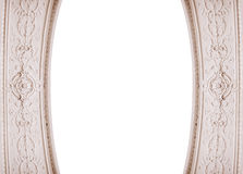 Beautiful architectural framing and place for text Royalty Free Stock Photo