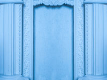 Beautiful architectural niche with columns Royalty Free Stock Image