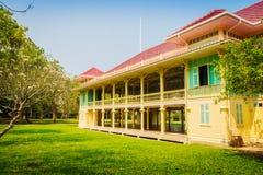 Beautiful Architecture af Mrigadayavan Palace, a former royal re Royalty Free Stock Photo