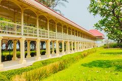 Beautiful Architecture af Mrigadayavan Palace, a former royal re Royalty Free Stock Photos