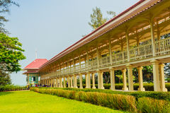 Beautiful Architecture af Mrigadayavan Palace, a former royal re Stock Image