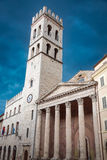 Beautiful architecture in Assisi, Umbria, Italy Royalty Free Stock Images