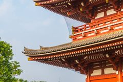 Beautiful architecture building sensoji temple is the famous place for visit in asakusa area royalty free stock photo