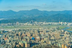 Beautiful architecture building taipei city royalty free stock photography