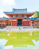 Beautiful Architecture Byodo-in Temple at Kyoto. Royalty Free Stock Photography