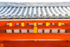 Beautiful Architecture Byodo-in Temple at Kyoto. Royalty Free Stock Image