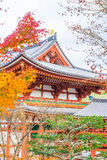 Beautiful Architecture Byodo-in Temple at Kyoto. Stock Photo
